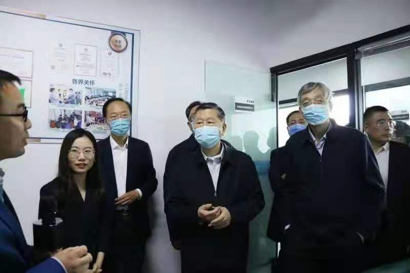 国家、省市政协领导到睿达智能装备公司视察指导工作